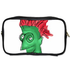 Crazy Man Drawing  Toiletries Bags 2 Side by dflcprintsclothing