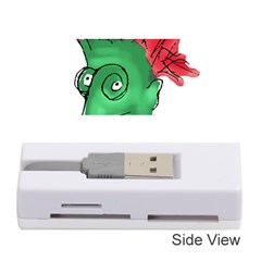 Crazy Man Drawing  Memory Card Reader (stick)  by dflcprintsclothing