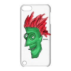 Crazy Man Drawing  Apple Ipod Touch 5 Hardshell Case With Stand