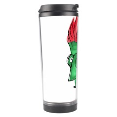 Crazy Man Drawing  Travel Tumbler