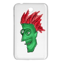 Crazy Man Drawing  Samsung Galaxy Tab 3 (7 ) P3200 Hardshell Case  by dflcprintsclothing