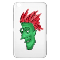 Crazy Man Drawing  Samsung Galaxy Tab 3 (8 ) T3100 Hardshell Case