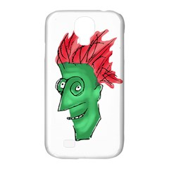 Crazy Man Drawing  Samsung Galaxy S4 Classic Hardshell Case (pc+silicone)