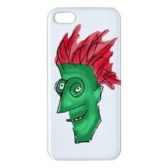 Crazy Man Drawing  Iphone 5s/ Se Premium Hardshell Case