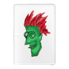 Crazy Man Drawing  Samsung Galaxy Tab Pro 10 1 Hardshell Case