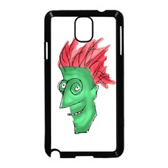 Crazy Man Drawing  Samsung Galaxy Note 3 Neo Hardshell Case (black)