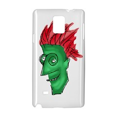Crazy Man Drawing  Samsung Galaxy Note 4 Hardshell Case