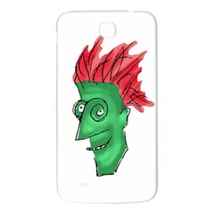 Crazy Man Drawing  Samsung Galaxy Mega I9200 Hardshell Back Case by dflcprintsclothing
