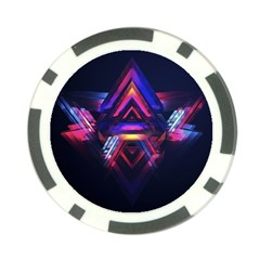Abstract Desktop Backgrounds Poker Chip Card Guard (10 pack) by Amaryn4rt