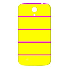 Background Image Horizontal Lines And Stripes Seamless Tileable Magenta Yellow Samsung Galaxy Mega I9200 Hardshell Back Case