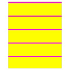 Background Image Horizontal Lines And Stripes Seamless Tileable Magenta Yellow Drawstring Bag (small) by Amaryn4rt