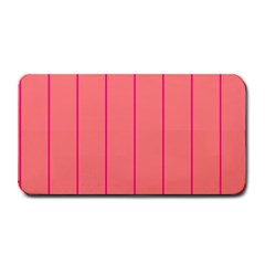 Background Image Vertical Lines And Stripes Seamless Tileable Deep Pink Salmon Medium Bar Mats by Amaryn4rt