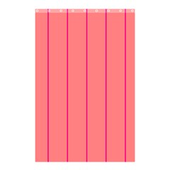 Background Image Vertical Lines And Stripes Seamless Tileable Deep Pink Salmon Shower Curtain 48  X 72  (small)