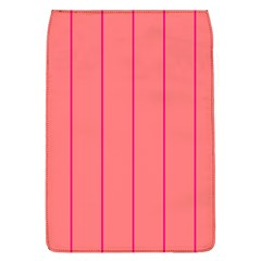 Background Image Vertical Lines And Stripes Seamless Tileable Deep Pink Salmon Flap Covers (l)  by Amaryn4rt
