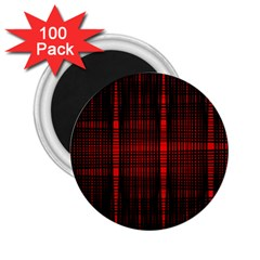 Black And Red Backgrounds 2 25  Magnets (100 Pack)  by Amaryn4rt