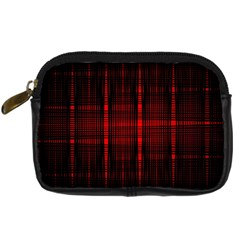 Black And Red Backgrounds Digital Camera Cases by Amaryn4rt