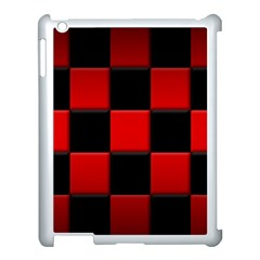 Black And Red Backgrounds Apple Ipad 3/4 Case (white) by Amaryn4rt