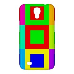 Colors Purple And Yellow Samsung Galaxy Mega 6 3  I9200 Hardshell Case by Amaryn4rt