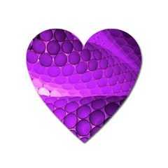 Circular Color Heart Magnet