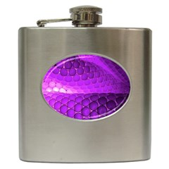 Circular Color Hip Flask (6 Oz) by Amaryn4rt