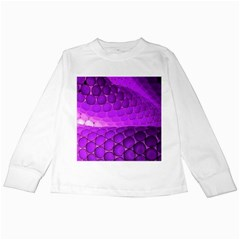Circular Color Kids Long Sleeve T-Shirts by Amaryn4rt