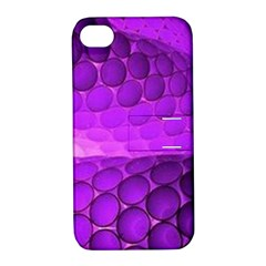 Circular Color Apple Iphone 4/4s Hardshell Case With Stand by Amaryn4rt