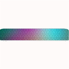Blue And Pink Colors On A Pattern Small Bar Mats by Amaryn4rt