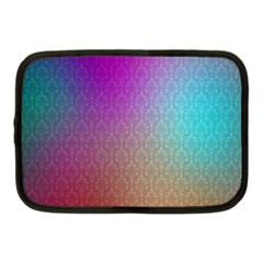 Blue And Pink Colors On A Pattern Netbook Case (medium)  by Amaryn4rt