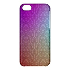 Blue And Pink Colors On A Pattern Apple Iphone 5c Hardshell Case by Amaryn4rt