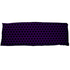 Dark Purple Metal Mesh With Round Holes Texture Body Pillow Case Dakimakura (two Sides) by Amaryn4rt