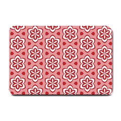 Floral Abstract Pattern Small Doormat  by Amaryn4rt