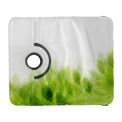 Green Leaves Pattern Galaxy S3 (flip/folio)
