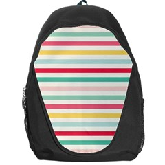 Papel De Envolver Hooray Circus Stripe Red Pink Dot Backpack Bag