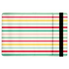 Papel De Envolver Hooray Circus Stripe Red Pink Dot Ipad Air 2 Flip by Amaryn4rt