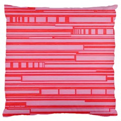 Index Red Pink Large Cushion Case (two Sides)