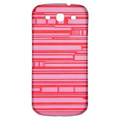 Index Red Pink Samsung Galaxy S3 S Iii Classic Hardshell Back Case by Amaryn4rt