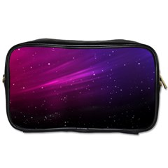 Purple Wallpaper Toiletries Bags 2 Side by Amaryn4rt