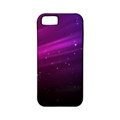 Purple Wallpaper Apple Iphone 5 Classic Hardshell Case (pc+silicone)