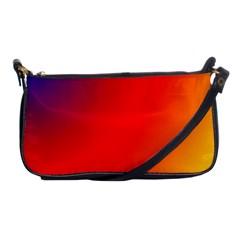 Rainbow Background Shoulder Clutch Bags by Amaryn4rt