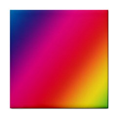 Rainbow Colors Tile Coasters