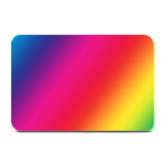 Rainbow Colors Plate Mats by Amaryn4rt