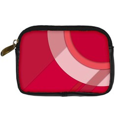 Red Material Design Digital Camera Cases by Amaryn4rt
