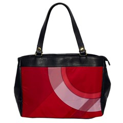 Red Material Design Office Handbags by Amaryn4rt