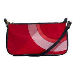Red Material Design Shoulder Clutch Bags by Amaryn4rt