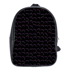Smooth Color Pattern School Bags(large)