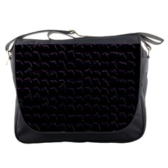 Smooth Color Pattern Messenger Bags
