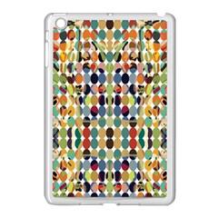 Retro Pattern Abstract Apple Ipad Mini Case (white)