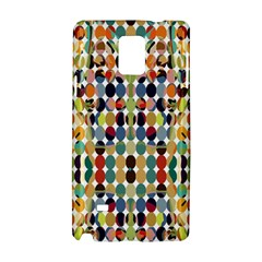 Retro Pattern Abstract Samsung Galaxy Note 4 Hardshell Case by Amaryn4rt