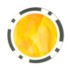 Yellow Pattern Painting Poker Chip Card Guard (10 Pack) by Amaryn4rt