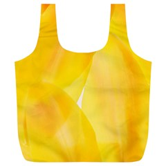 Yellow Pattern Painting Full Print Recycle Bags (l)